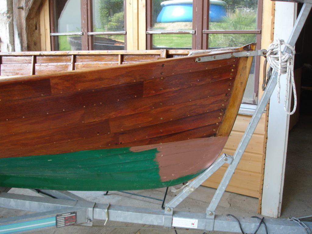 Barque après restauration