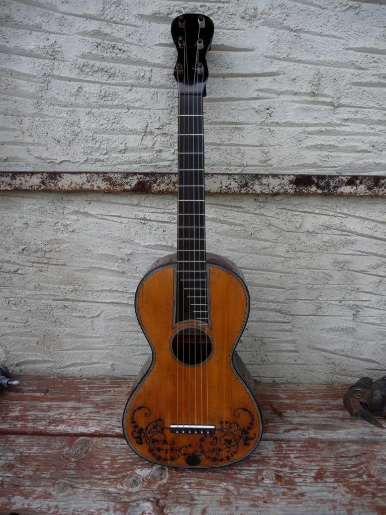 Guitare rénovée