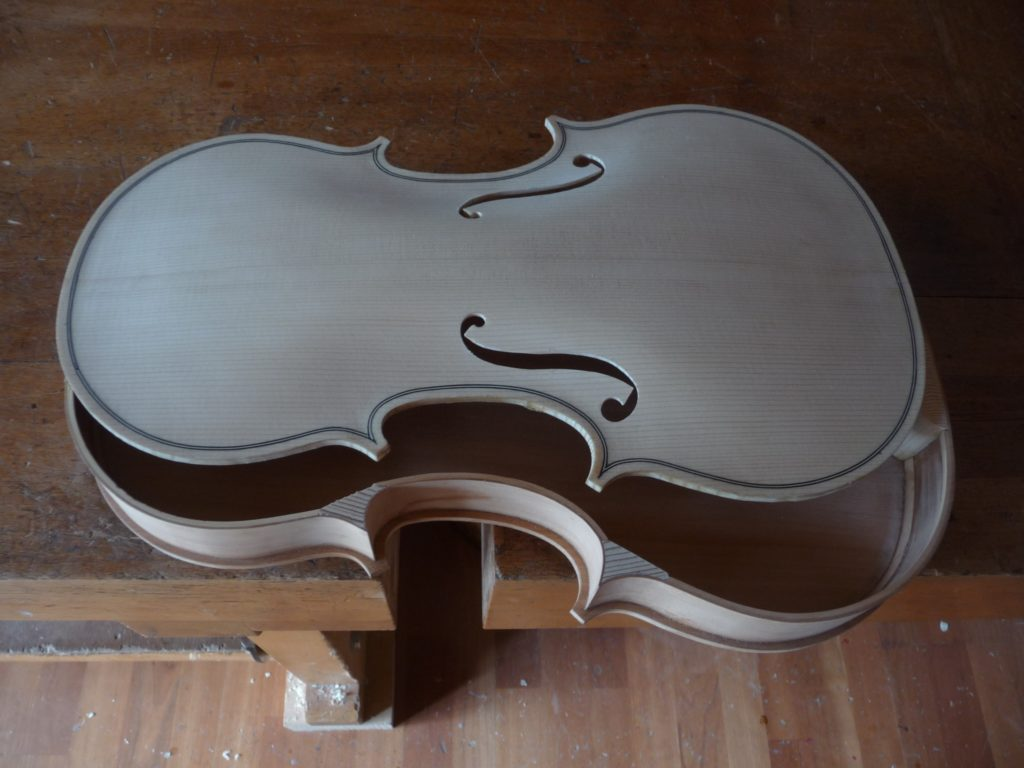 Fabrication d'un violon