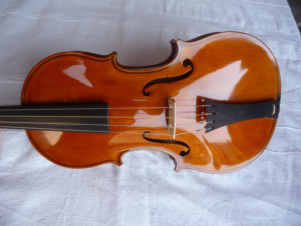 Corps du violon fini